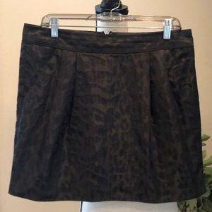 GAP Leopard Skirt